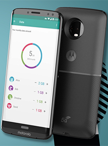 Moto X (5th gen.) 32GB with 4GB Ram